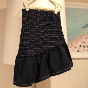 THE FIFTH LABEL ASYMMETRIC BLACK SKIRT SIZE SMALL